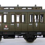 Wagon osobowy 2 kl  By (Dracula Roco 44515 R/09411)