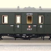 Wagon osobowy 3 kl C (Piko 95949)