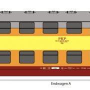 Zespół wagonów piętrowych Bhp (Rivarossi HRS4231)